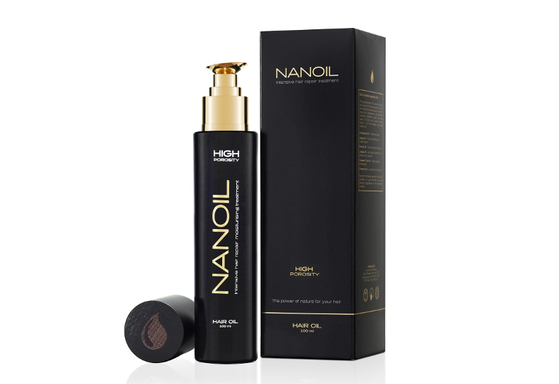 NANOIL Hair Oil – Versatile Treatment